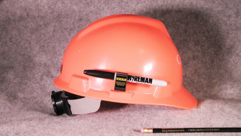 Hard Hat Pencil Clip Wireman Com Specialty Tools For
