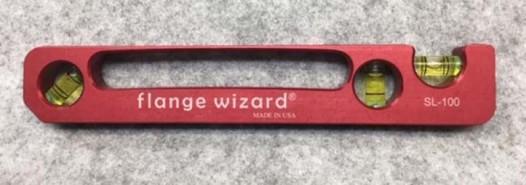 Flange Wizard Standard Pocket Level